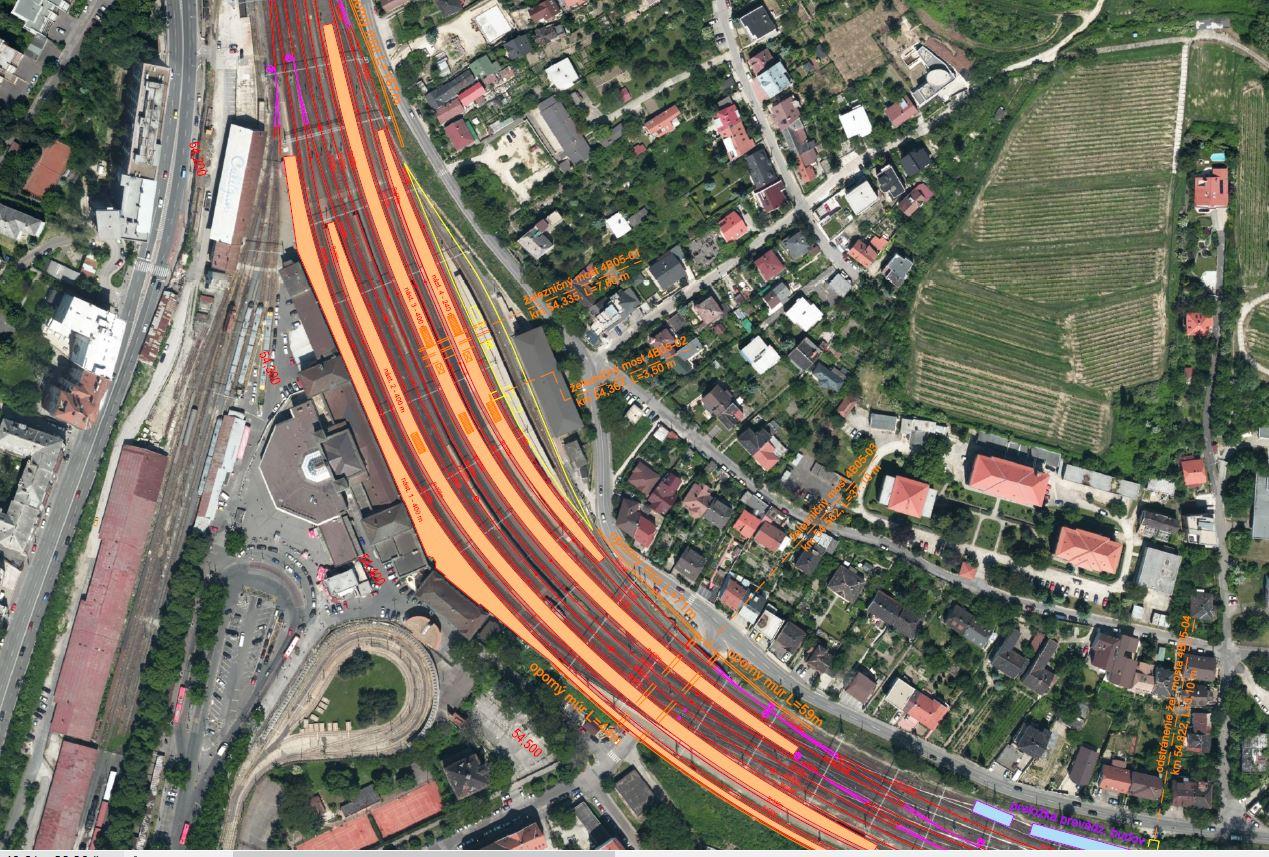 Studie proveditelnosti Železničního uzlu Bratislava - modernizace Hlavní stanice