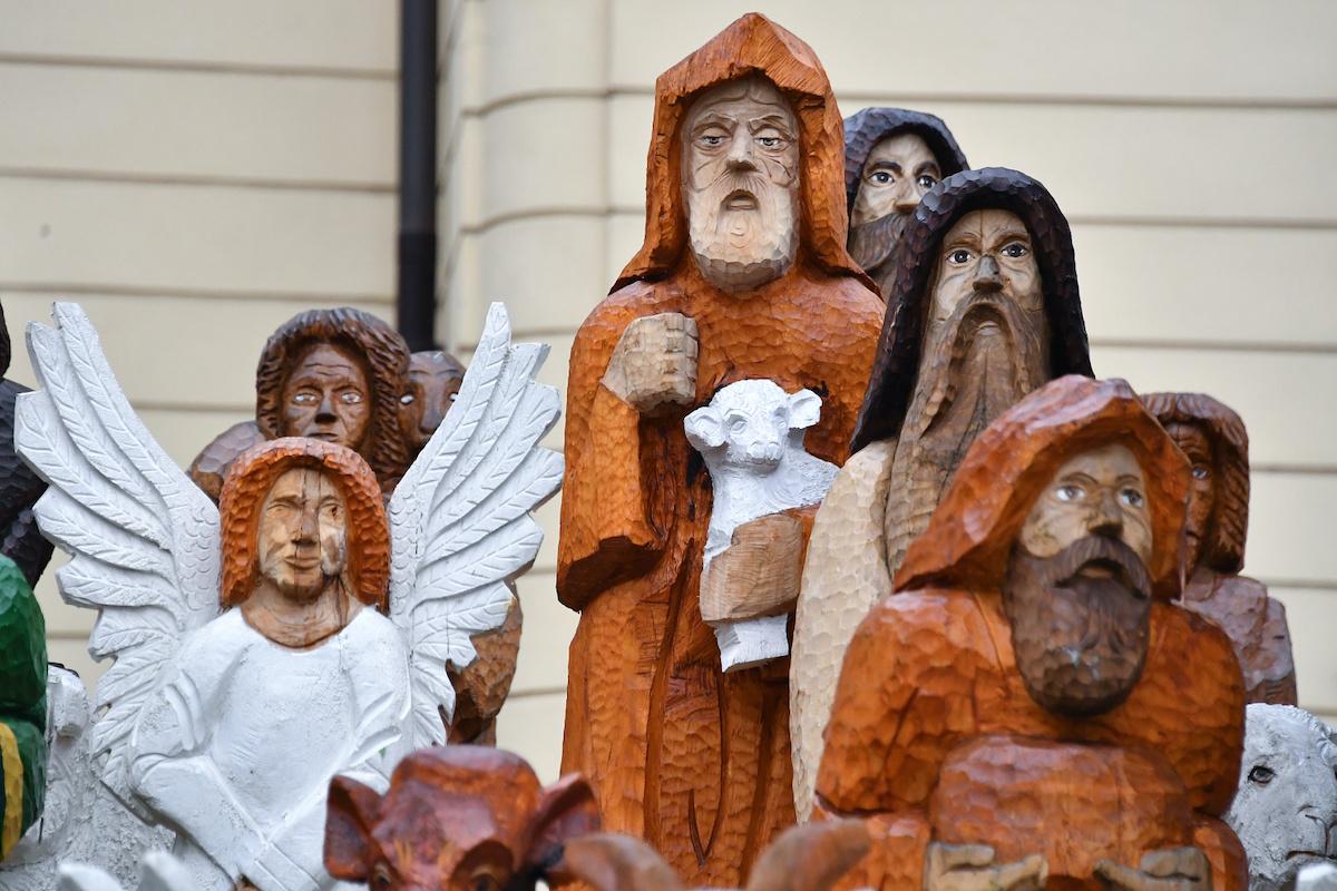 Halouzkův betlém na Dominikánském náměstí v Brně