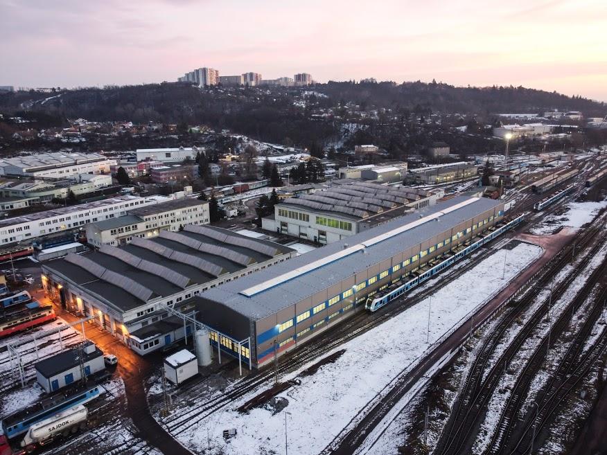 Opravárenská hala Brno-Maloměřice