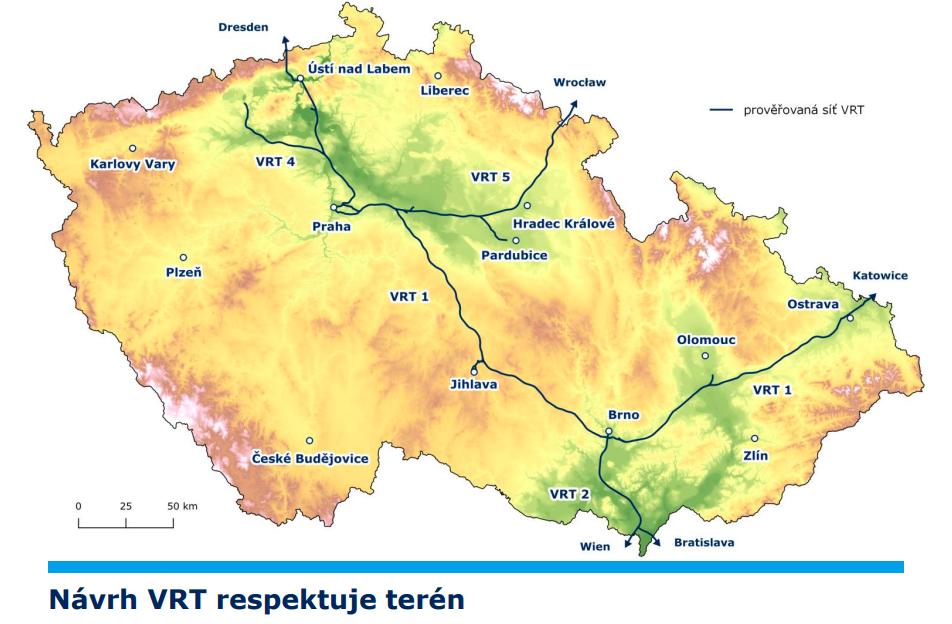 Návrh VRT respektuje terén
