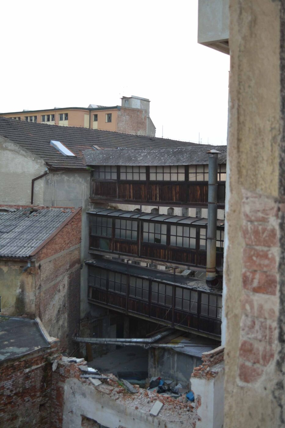 Komentovaná prohlídka Vlněny, říjen 2014