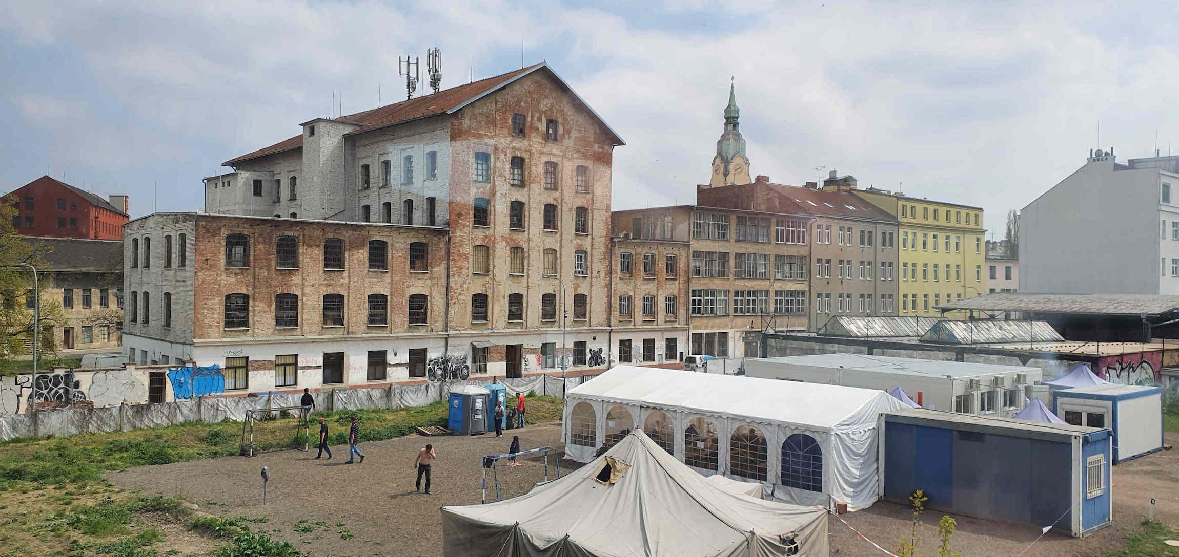 Mosilana na Křenové ulici v Brně