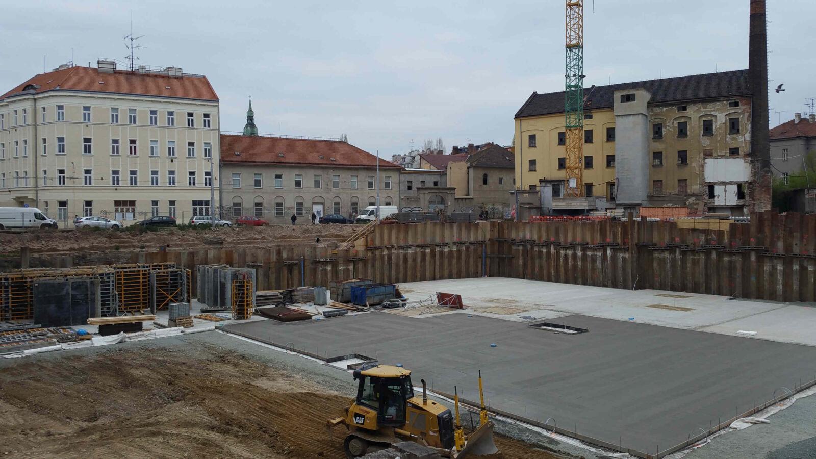Brněnská Vlněna v dubnu 2019