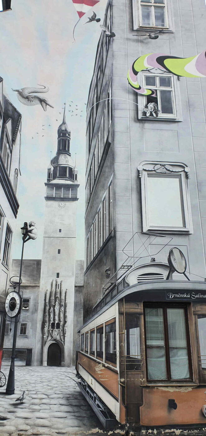 Malování na stěny Mendlovo náměstí